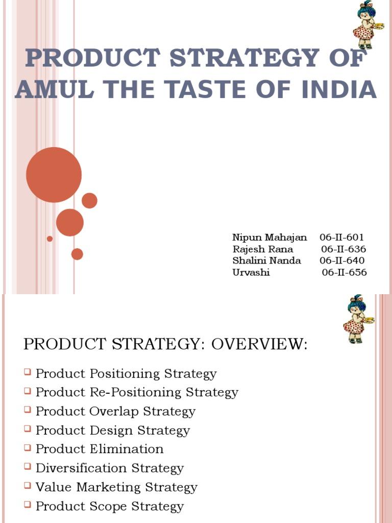 Amul marketing strategy |authorstream.