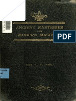 Ancient Mysteries and Modern Masonry 1909 by the Rev. Charles H