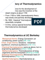 A Brief History of Thermodynamics