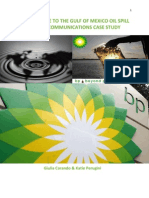 BP Crisis Communications