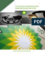 BP Crisis Communications
