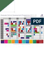 Graduate School Wall Planner 2011-12-2