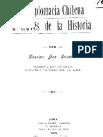 La diplomacia chilena a través de la historia. (1925)