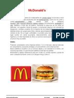 Mcdonalds-informacion