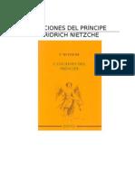 Nietzsche Friedrich - Canciones Del Principe