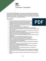 [RCPS]Job Description Project Manager