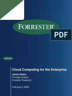 Forrester_CloudComputingWebinarSlideDeck