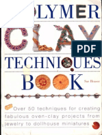 Fimo-Polymer Clay Techniques Book