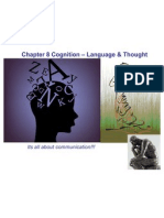 APPSYCH Chapter 8 Cognition Language Thought