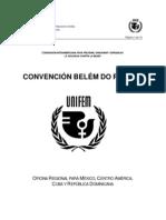 CONVENCIÓN INTERAMERICANA BELÉM DO PARÁ