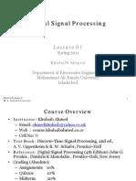 MAJU-DSP-Lecture01