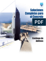 Aditivos Concreto Master Build