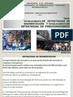 10ESTABLECIMIENTO DE ESTRATEGIAS DE SEGMENTACIÓN Y POSICIONAMIENTO