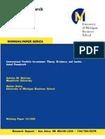 4.International Portfolio Investment