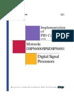 Motorola - Implementation of PID Controllers