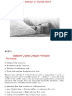 Hydraulic Structures I L7 Outlet Structure Design (Copy)