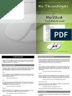 MuVoice_InstallationGuide