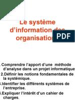M13 CONCEPTION ET MODELISATION D'UN SYSTEME D'INFORMATION