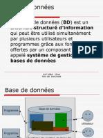 1 INTRODUCTION BASE DE DONNEES