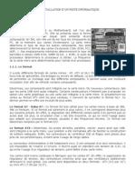 M14 INSTALLATION D'UN POSTE INFORMATIQUE  MATERIEL INFORMATIQUE