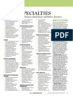 US News 2002 Specialty Ranking