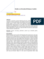 Experimental Studies on Downdraft Biomass Gasifier