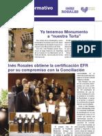 INÉS ROSALES - Boletín Informativo Nº 8