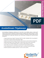 Brochure AvediaStream TV Gateway4.3