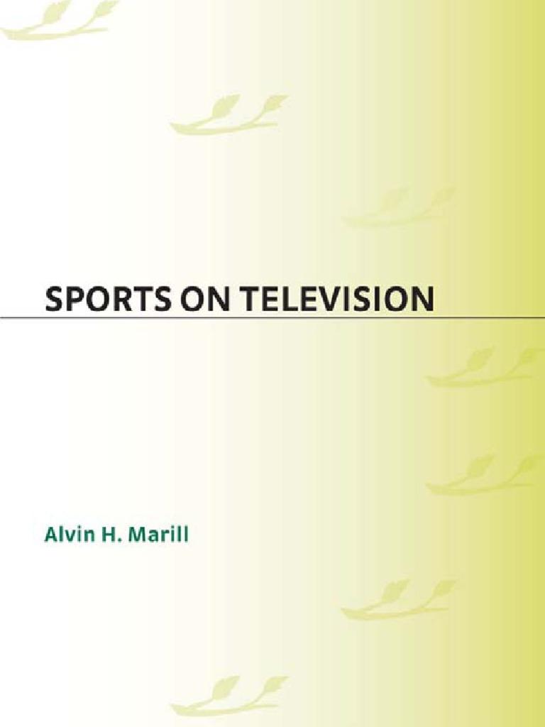 Alvin H Marill Sports On Television Nbc Cbs En Ji By Palomino Ashlee Wallet M