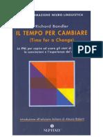 [eBook - ITA - Sociologia - Psicologia Bandler,Richard - Il Tempo Per Cambiare