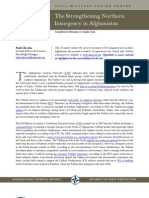 Afghanistan-The Strengthening Northern Insurgency in Afghanistan 2011