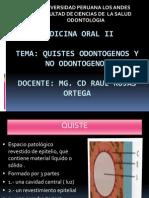 Quiste Odontogenos-Medicina II