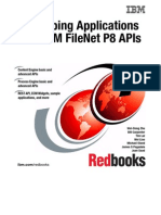 Developing Applications With IBM FileNet P8 APIs