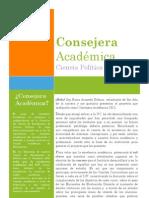 Consejera Academica CP 2012