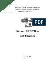 Simion Băncilă