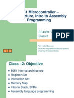 Intro to 8051 Assembly Programming
