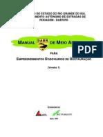 Manual de Meio Ambiente - Restauração