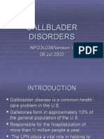 PP03L038 Gallbladder Disorders