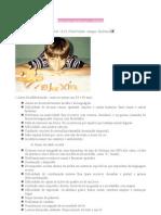 Dislexia sinais