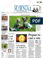 The Abington Journal 10-26-2011
