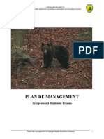 Plan de Management Muntiorul Ursoaia
