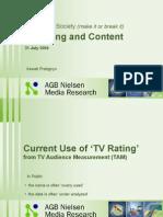 Irawati Pratignyo - TV Rating Dan Content