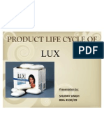 38748418 Product Life Cycle on Hul s Lux