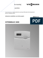 Instr Montaj + Service Vitosolic 200