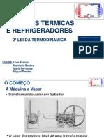 Maquinas Termicas e Refrigeradores - Fisica II PDF
