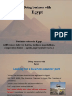 Doing Business With Egyptppt