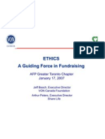 Ethics a Guiding Force in Fundraising