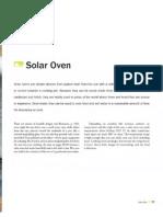DIY Solar Projects Solar Oven