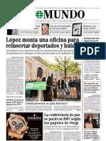 Documentos de FOMENTO prueban que su nefasta gestión propició el caos aéreo - El Mundo (26 Oct 2011)