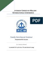 Familily Enrichment Seminar
